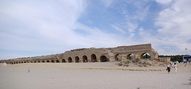 Cezareea, un oraş fondat în onoarea împăratului August