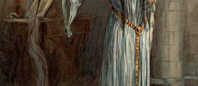 Zâna Morgana a dobândit puterea magică de la vraciul Merlin