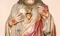 Statuia-lui-Iisus-a-sângerat-în-Pennsylvania